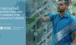 Watch: Manufacturing Solutions: Forecasting, Budgeting, and Planning for Manufacturers