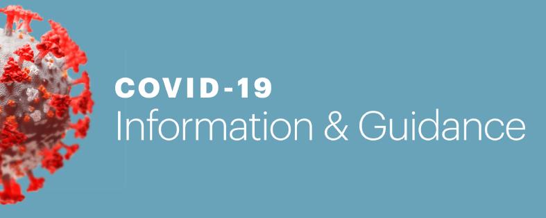 COVID-19 Homepage